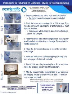 VNUS Handling Instructions